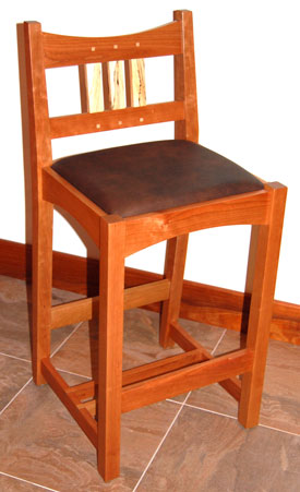 craftsman bar stool cherry ... & Craftsman Bar Stool Craftsman Style Bar Stools Foter. Craftsman ... islam-shia.org