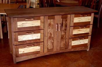 Walnut Dining Buffet