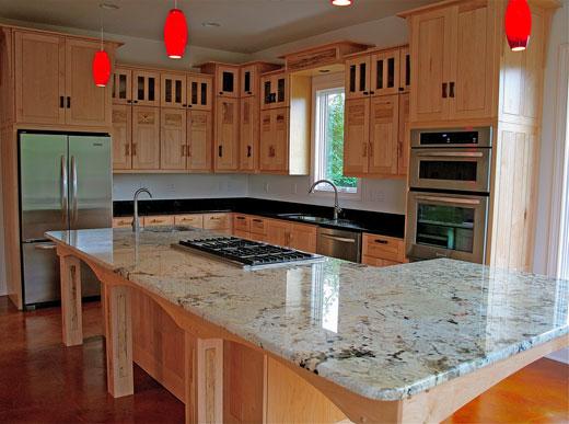 Craftsman Kitchen Maple