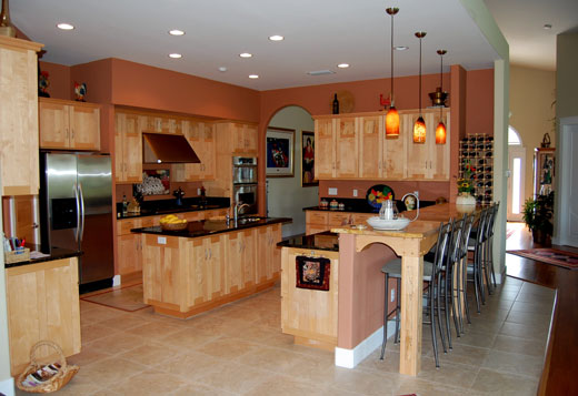 Salt Tide Contemporary Craftsman Kitchen