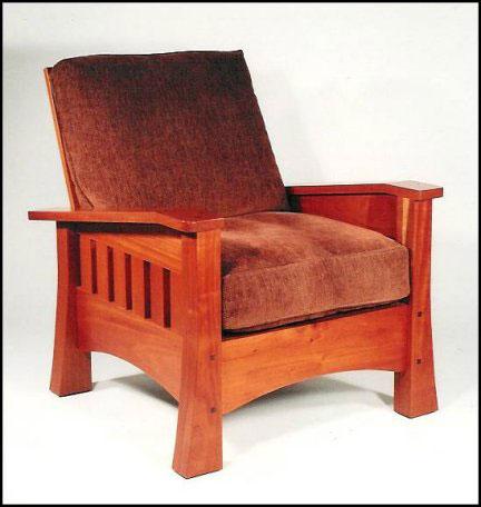 Collectibles-General (Antiques): antique leather morris chair
